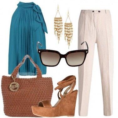 Outfit Sguardo griffato