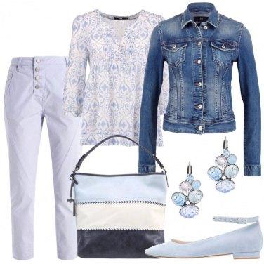 Outfit Evviva l\'azzurro