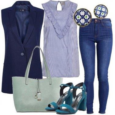 Outfit Sfumature di blu