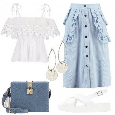 Outfit Romantiche rifiniture