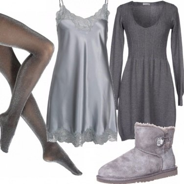 Outfit Hot grey