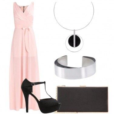 Outfit Collana con il cerchio