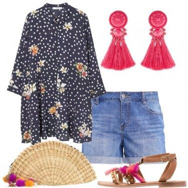 Outfit Maxi camicia