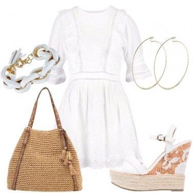 Outfit La zeppa decorata