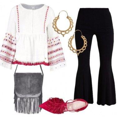Outfit Boho ricercato