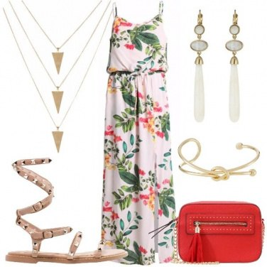 Outfit Dea floreale