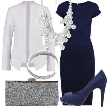 Outfit Tubino blu