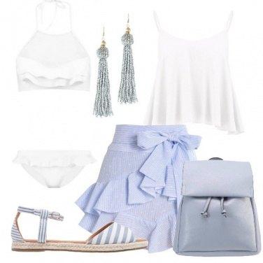 Outfit Romanticamente al mare