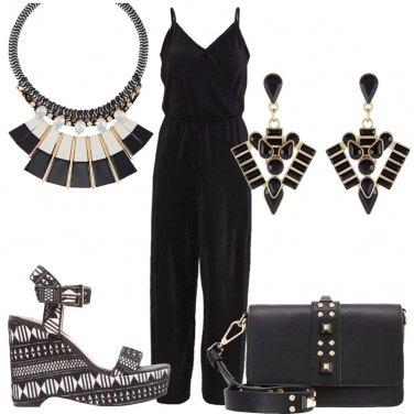 Outfit Sandali con fantasia