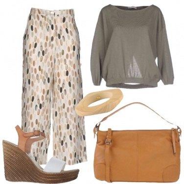 Outfit Tessuti e colori naturali