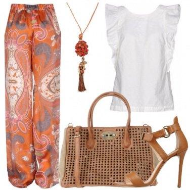 Outfit Qualità naturale per essere glamour
