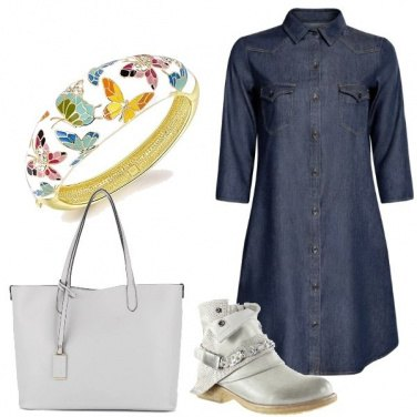 Outfit Veloce in jeans