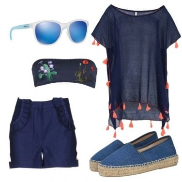 Outfit Blu mare
