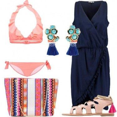 Outfit Al mare con allegria