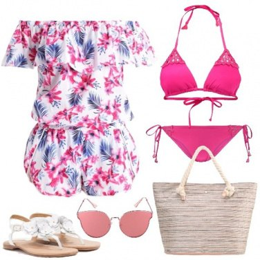 Outfit Un mare di colore