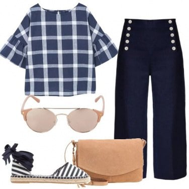 Outfit La freschezza del lino