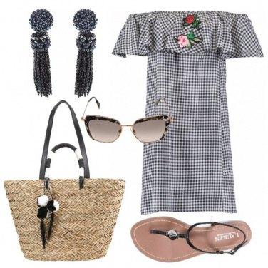 Outfit Pronta per una passeggiata sul lungomare