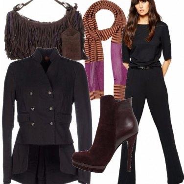 Outfit Mash up di stili