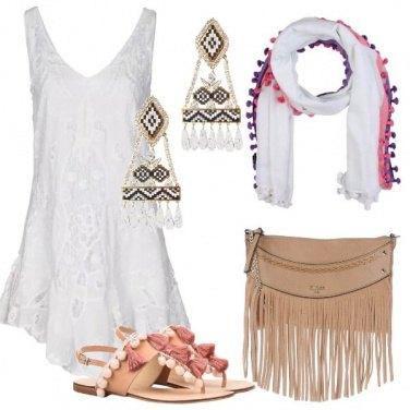 Outfit Naturale come il cotone