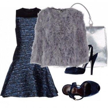 Outfit Capodanno sfavillante