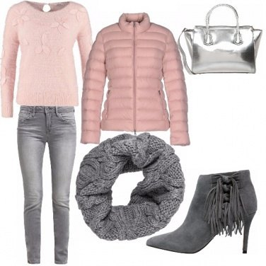 Outfit Romantico rosa