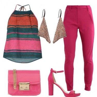 Outfit Per una serata colorata