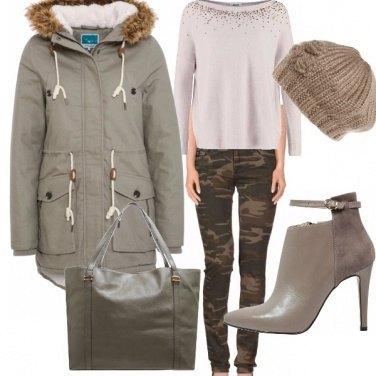 Outfit Romantica cacciatrice