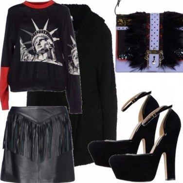 Outfit Xmas shopping