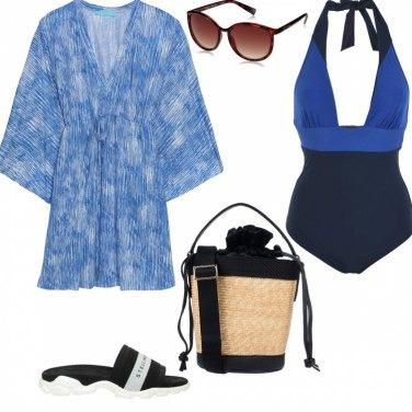 8a3ed9557c4e Come abbinare i vestiti da spiaggia: 400 Outfit Donna | Estate 2019 ...