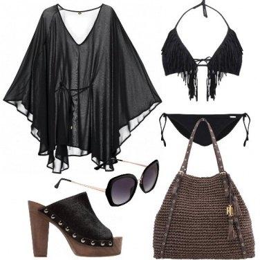 Outfit Una diva anche in spiaggia