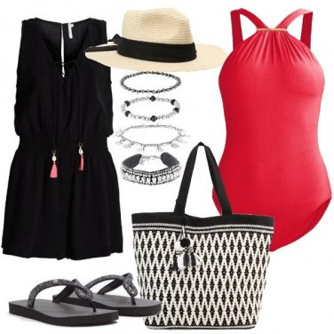 Outfit Eleganza in spiaggia
