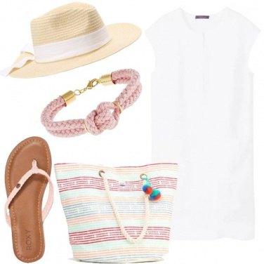 Outfit Un mare di bianco