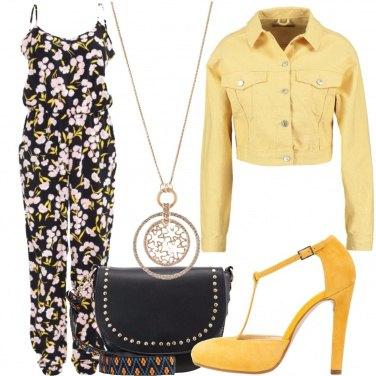 Outfit Con i fiori addosso