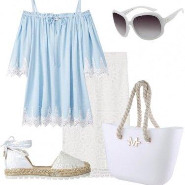Outfit Al ristorante in riva al mare