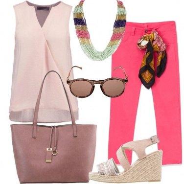 Outfit Gradazioni di rosa