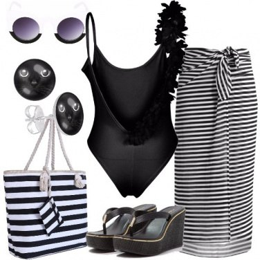Outfit In spiaggia a basso costo
