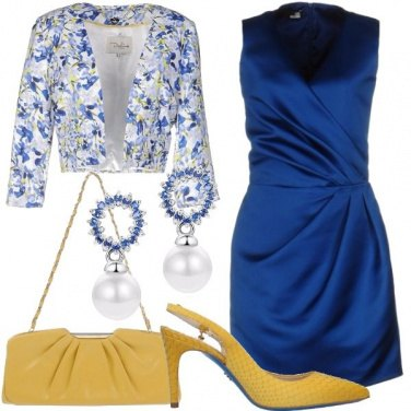 Outfit Blu come uno zaffiro