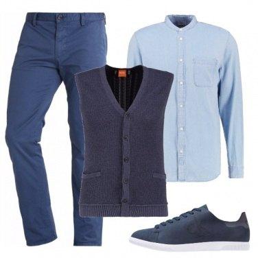 Outfit Gradazioni di blu