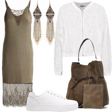 Outfit Audace con romanticismo