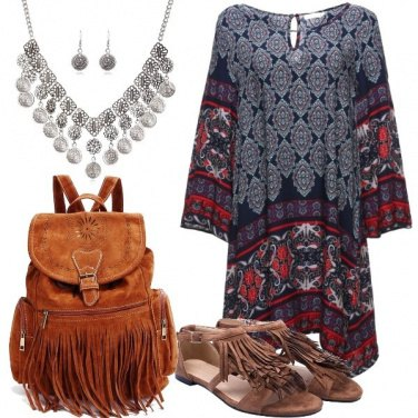 Outfit Abito a tunica