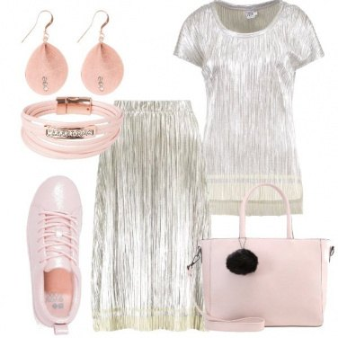 Outfit Luminosa nel tuo rosa