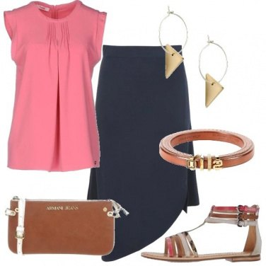 Outfit Una gonna particolare