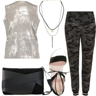 Outfit Camouflage dipendenza