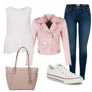converse bianche uomo outfit
