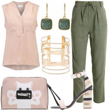 Outfit La pochette griffata