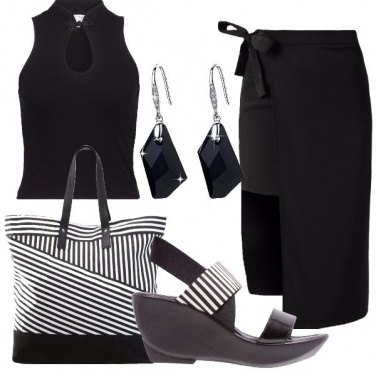 Outfit Silhouette nera