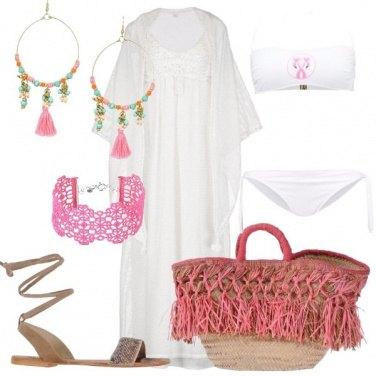 Outfit Boho al mare