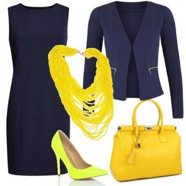 Outfit Un pizzico di giallo