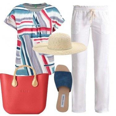 Outfit Passeggiata fronte mare