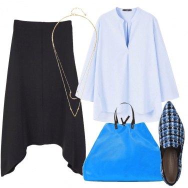 Outfit Un tocco di colore al Minimal